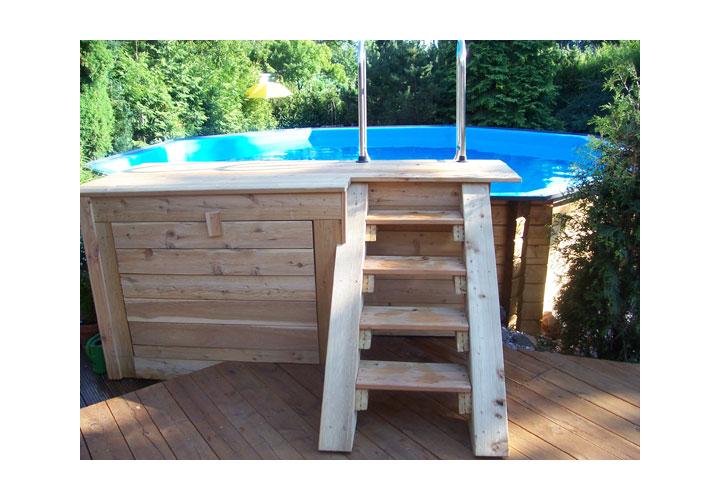 Beispiele f r die folienverlegung vorher und nachher for Folienverlegung schwimmbad